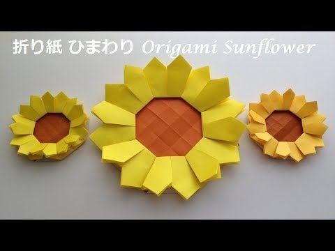 Niceno1origami Sunflower Tutorial