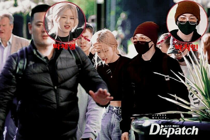 Breaking Dispatch Reveals The Second Couple Of 2019 Park Jimin And Park Chaeyoung Have Been Dating For A Year Dispatch Releases Pasangan