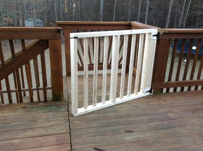 Gate for deck