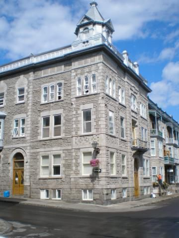 Appartement 3 et demi à louer Vieux-Québec Capitale-Nationale