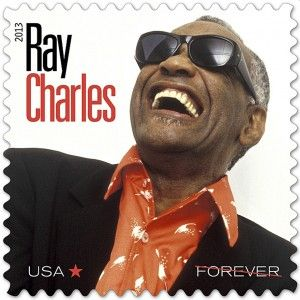 Us Postal Service Honors Ray Charles With Limited Edition Stamp American Blues Scene Forever Stamps Usps Stamps Usa Stamps