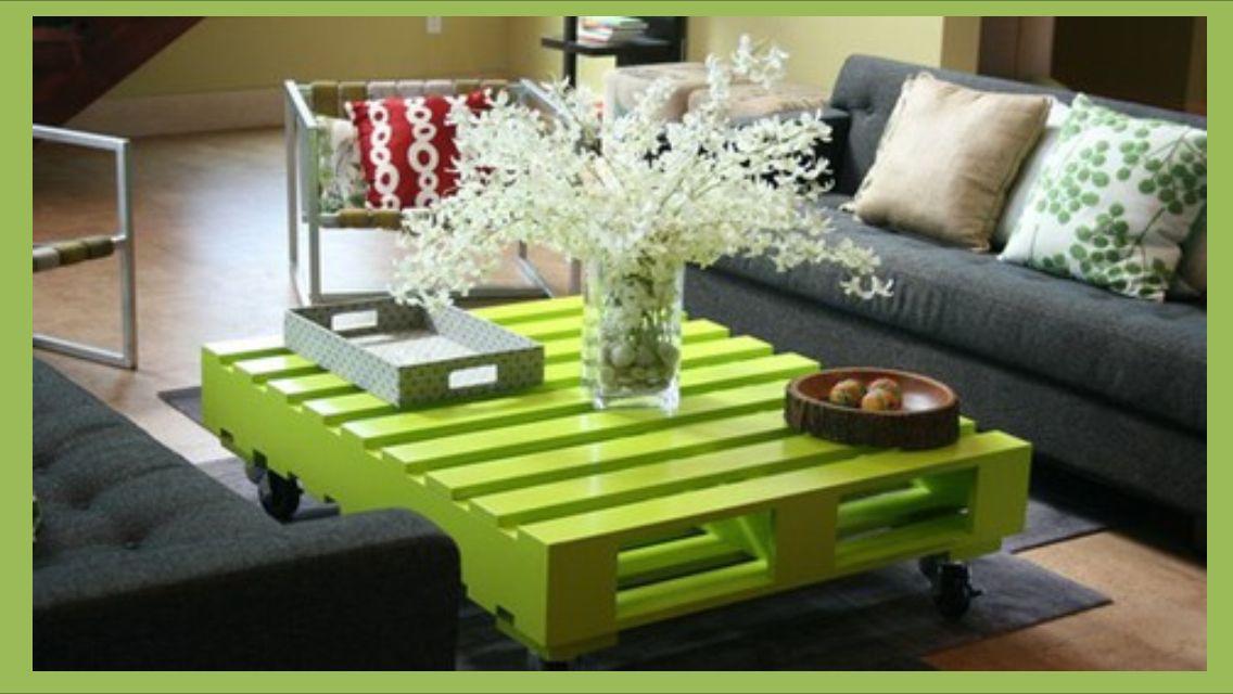 DIY Table pas chère : palette!  Idées déco  Pinterest