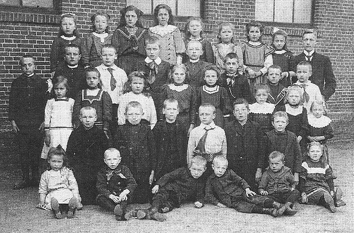 "Pictures From 1913  The kids and I spent 20 minutes looking at this picture and talking about what life might have been like 100 years ago.  The kid to the far left, the kids named ""Jimmy.""  Not sure why but this picture was a blast!"
