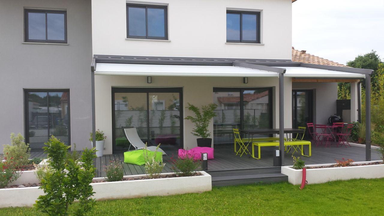 am nagement terrasse moderne houses pinterest pergolas house architecture and house. Black Bedroom Furniture Sets. Home Design Ideas