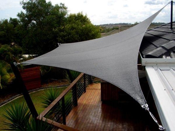 Sonnensegel Aufrollbar Terrassen-Überdachung | Ideen Für Unseren ... Sonnensegel Terrasse Sonnenschutz
