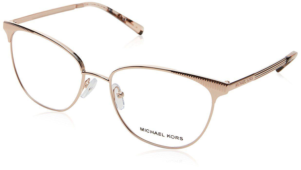 64dc1d61ef Eyeglasses Michael Kors MK 3018 1194 ROSE GOLD-TONE at Amazon Men s  Clothing store