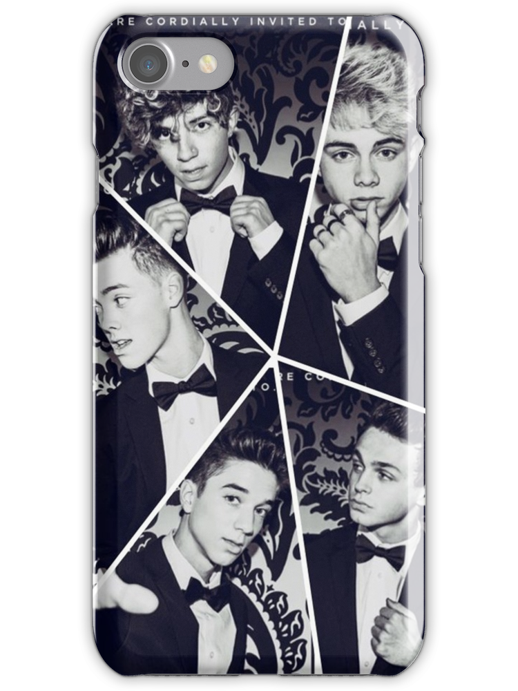 Why Dont We Band Collage iphone case