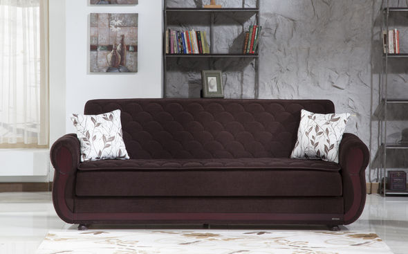 Strange Istikbal Argos Colin Brown Dark Brown Fabric Sofa Bed W Cjindustries Chair Design For Home Cjindustriesco