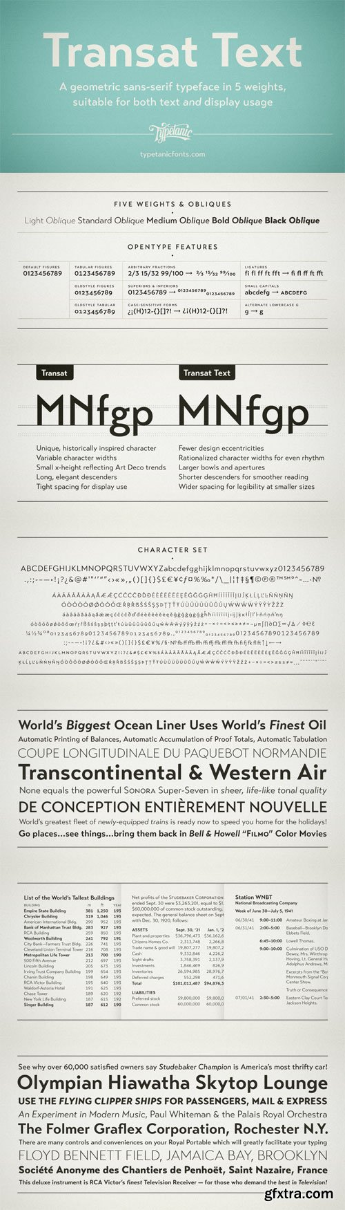 Transat Text Font Family 10 Fonts By HazZbroGaminG Fonts