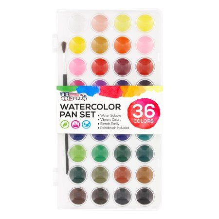 Arts Crafts Sewing Watercolor Paint Set Paint Set Watercolor