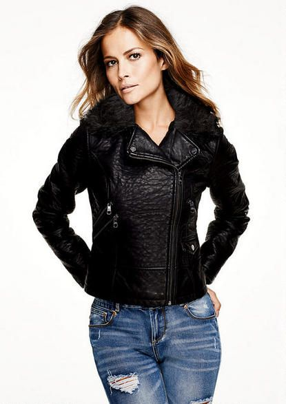 top-rated cheap free delivery pretty cheap Steve Madden Faux Leather Moto Jacket - View All Outerwear ...