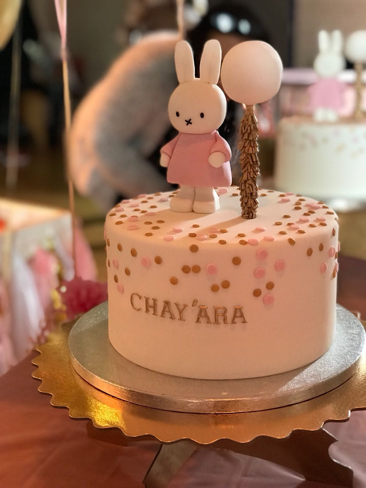 Wonderbaar Miffy cake nijntje taart baby 1 jaar   Taart baby UC-19