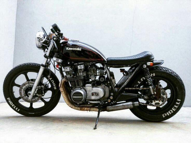 kawasaki 400cc brat style motorcycle dreams kawasaki. Black Bedroom Furniture Sets. Home Design Ideas