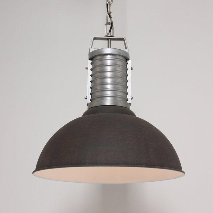 Industrie Hängelampe Retro Fabriklampe Oncle Phillipe