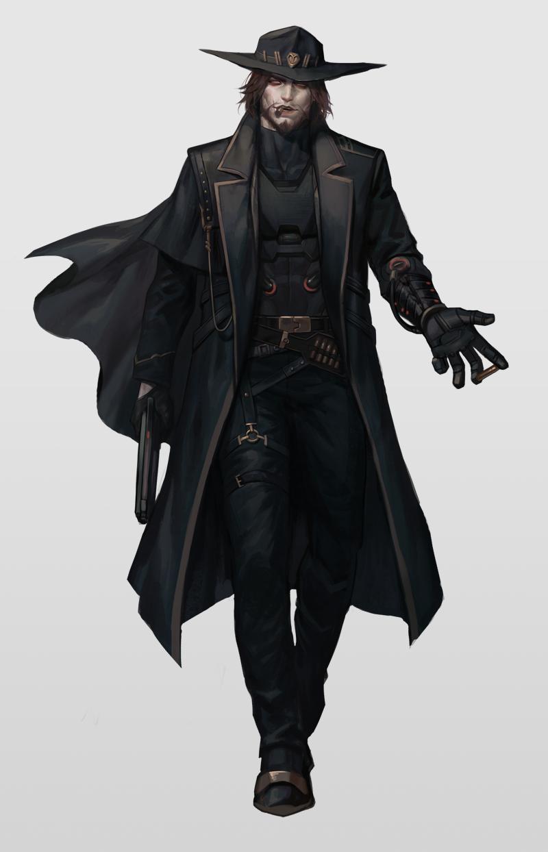 Overwatch Art Overwatch Blizzard Blizzard Entertainment Fendomy Mccree Kkangcheol Fantasy Character Design Overwatch Character Portraits
