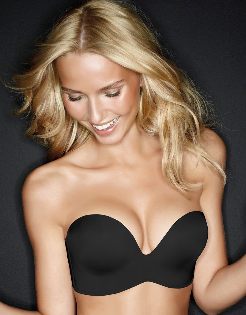 Wonderbra Ultimate Strapless Bra In Black... From day to night ...