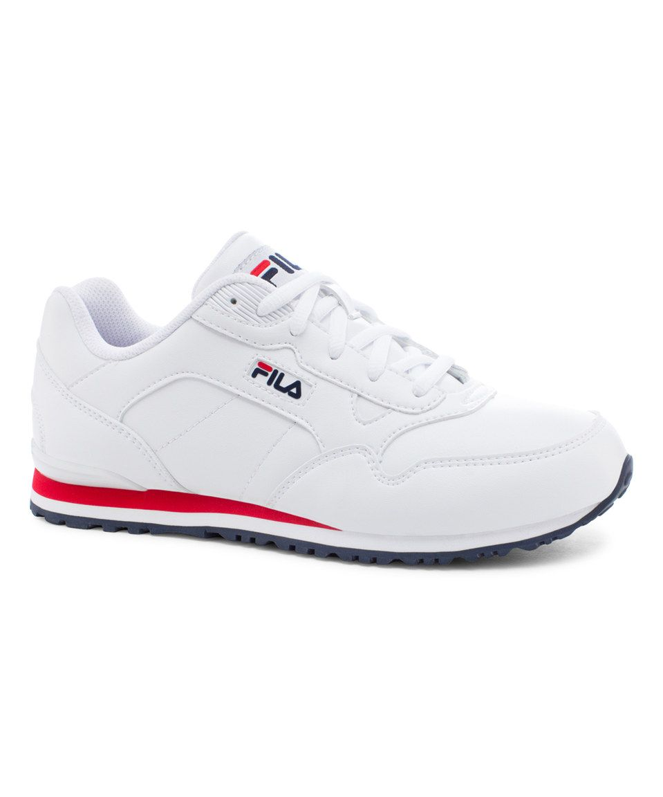 fila for women. this white \u0026 red cress sneaker - women by fila is perfect! fila for i