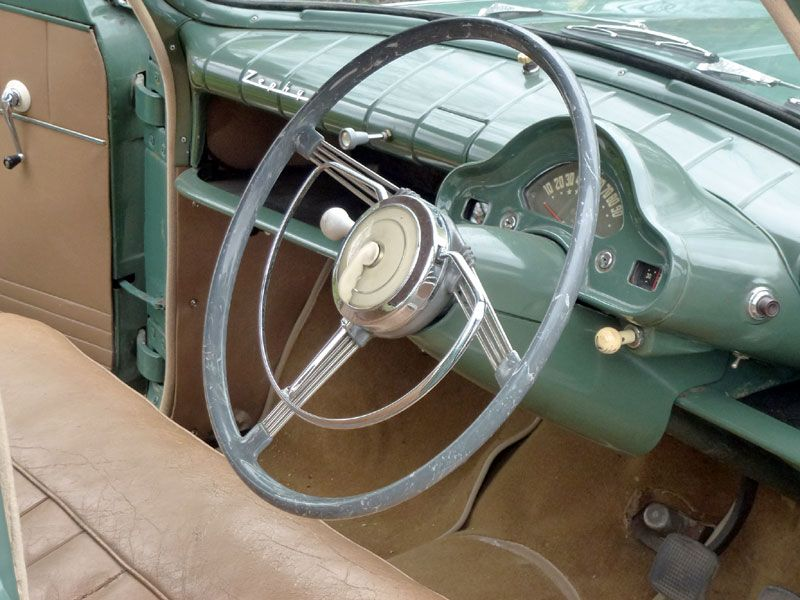Buy Classic 1954 Ford Zephyr 6 Car S At Auction Ford Zephyr 1954 Ford Car Interior