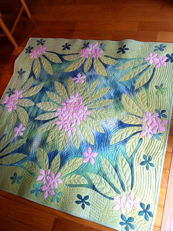 3) Meg\'s Hawaiian Quilt | Quilting # 14 | Pinterest | Nähen