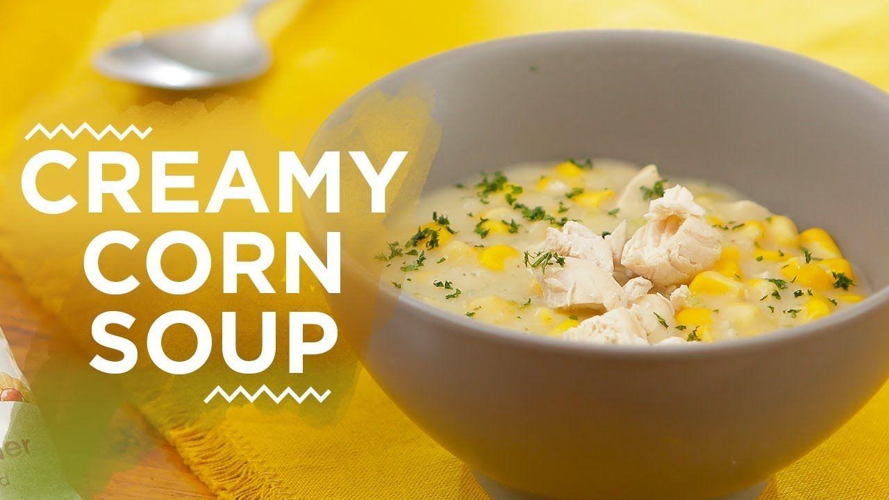 Resep Creamy Corn Soup Yuda Bustara Youtube Sup Resep Makanan Makanan