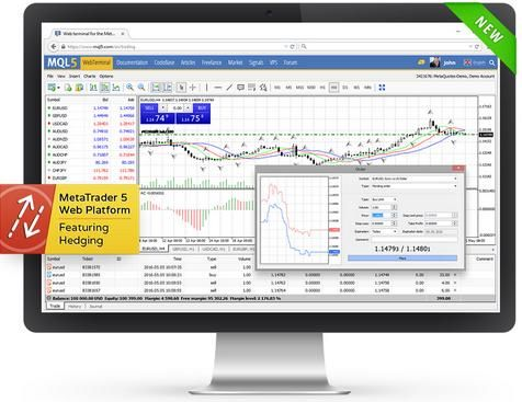 MetaQuotes Software lance la version bêta de la plate-forme MetaTrader 5 web