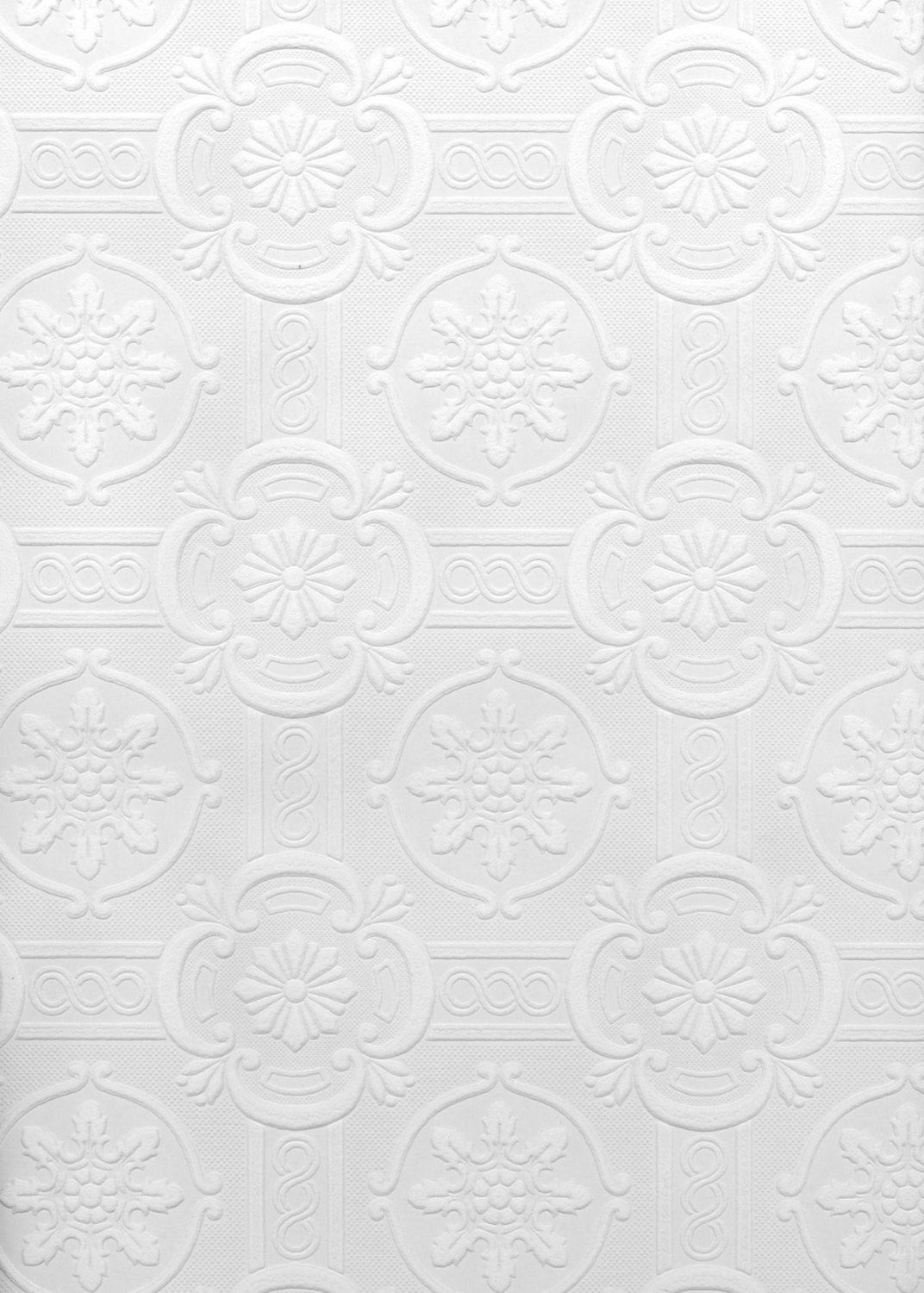 Brewster Hacienda Tile Texture Paintable Wallpaper Washable Prepasted Double Rol