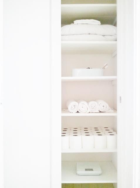 Simple And Minimal Zero Waste Linen Closet Plastic Free Package