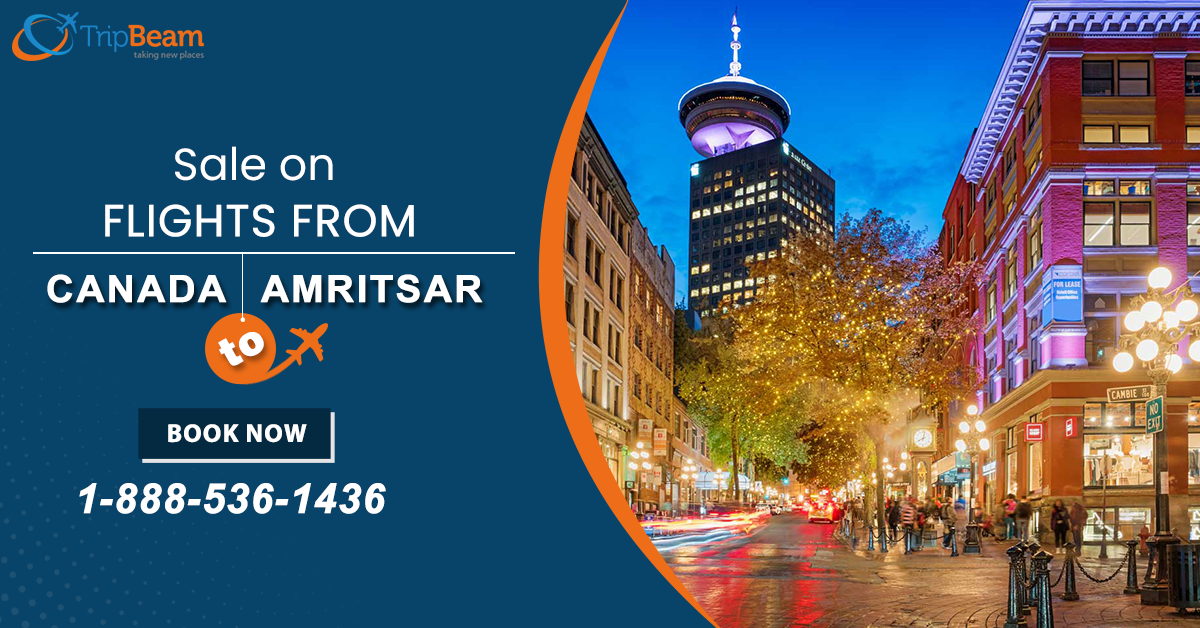 Book cheap flight tickets on #Tripbeam from #Canada to #Amritsar. Hurry! Contact us to get the best deal today!   For more information: Contact us at: 1-888-536-1436 (Toll-Free), info@tripbeam.ca.  #CanadatoIndiaflightdeals #beautifullocation #bestflightdealstoindia #canadatoindiaflights #India #Travellers #Indian #Vacations #Destinations #Tourists #Punjab #TriptoIndia #ExploreAmritsar #ExploreIndia #bookflightnow