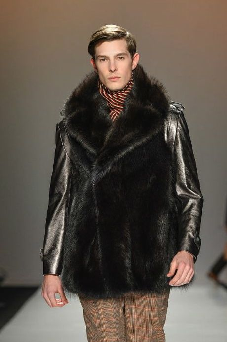 Fur leather combo