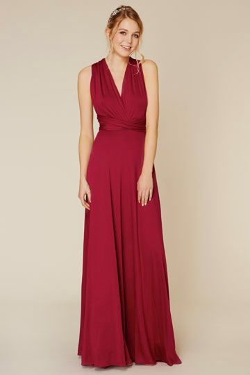 Coast Bridesmaid Stylebook - Corwin Maxi Dress Raspberry Red ...