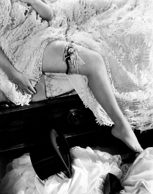 oldfilmsflicker:  the infamous shot of Miriam Hopkins's leg in Dr. Jekyll and Mr. Hyde