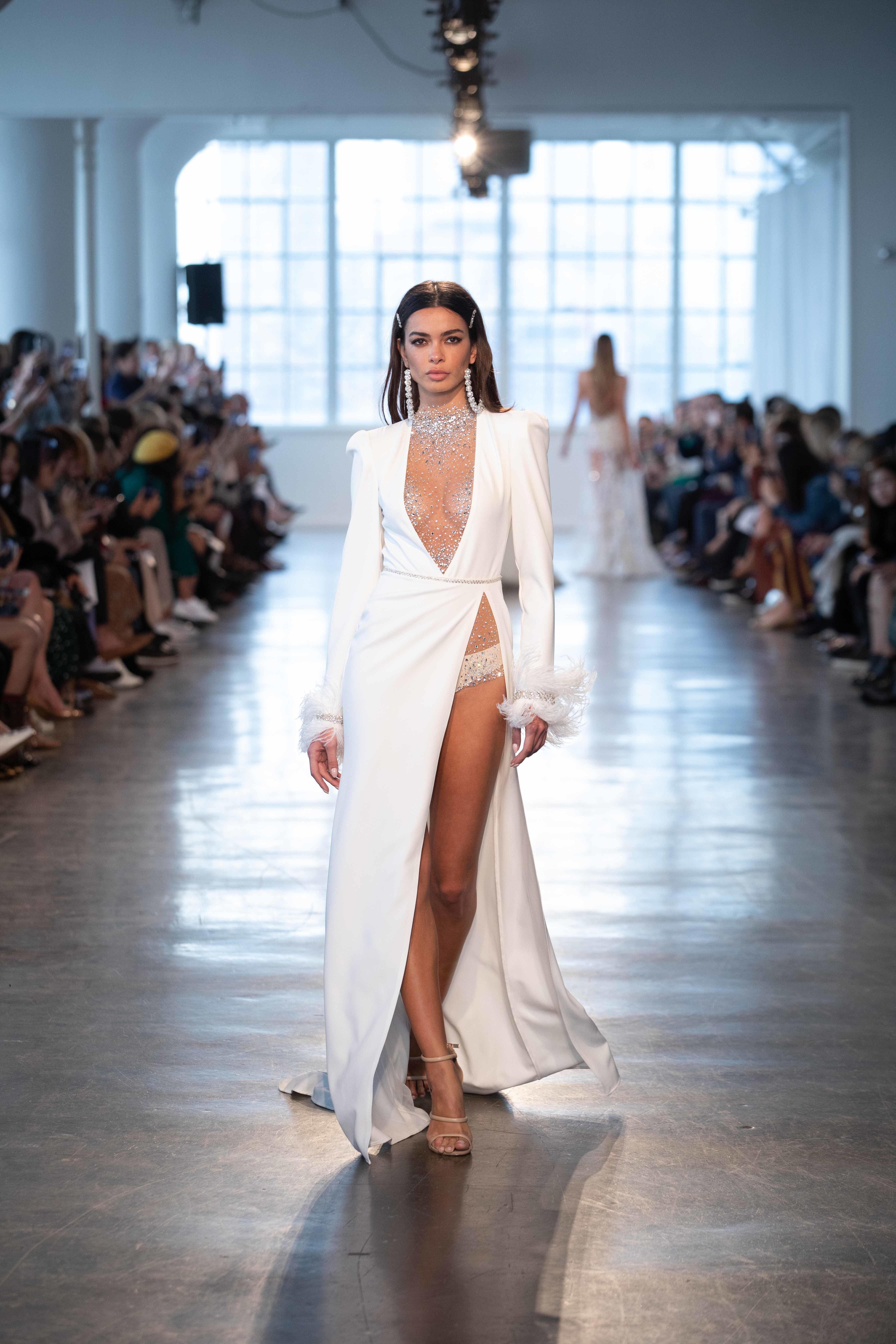 Bridal Fashion Week 2020.Berta Bridal Wedding Dress Collection Spring 2020 Brides
