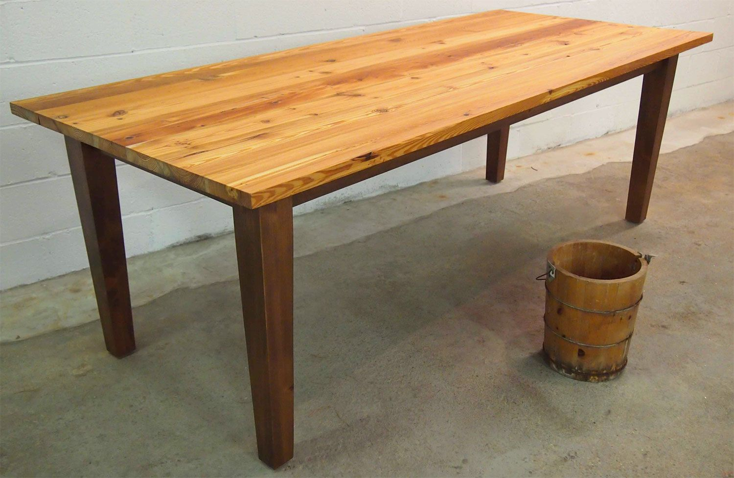Truly A Timeless Vintage American Farm Table Handcrafted From - Farm table boston