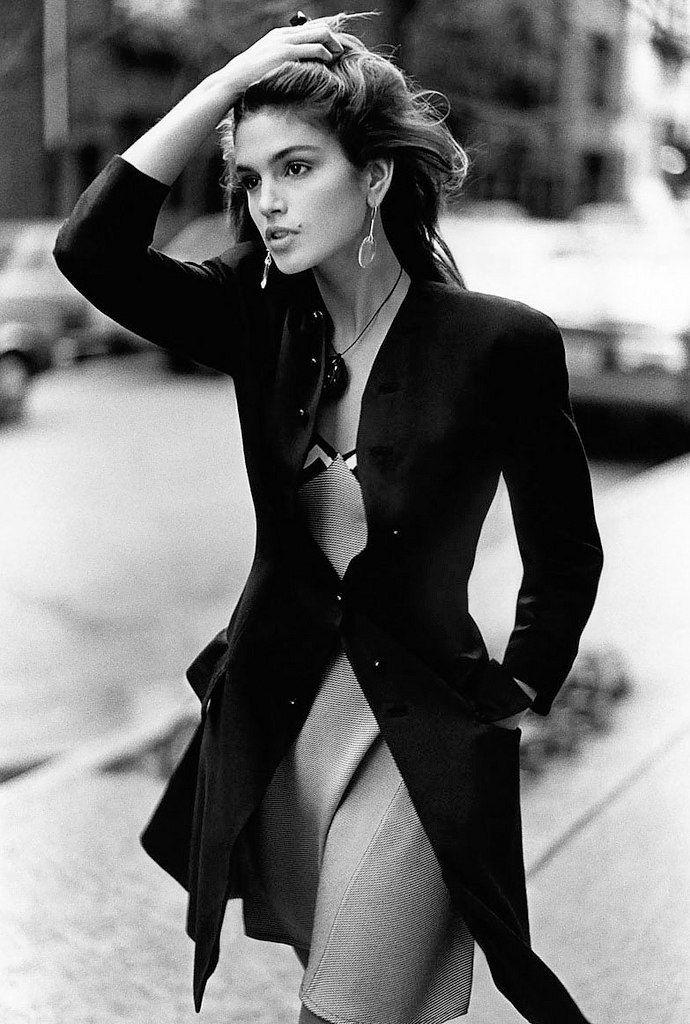 Cindy Crawford スーパーモデル, 女性, ファッションポートレート