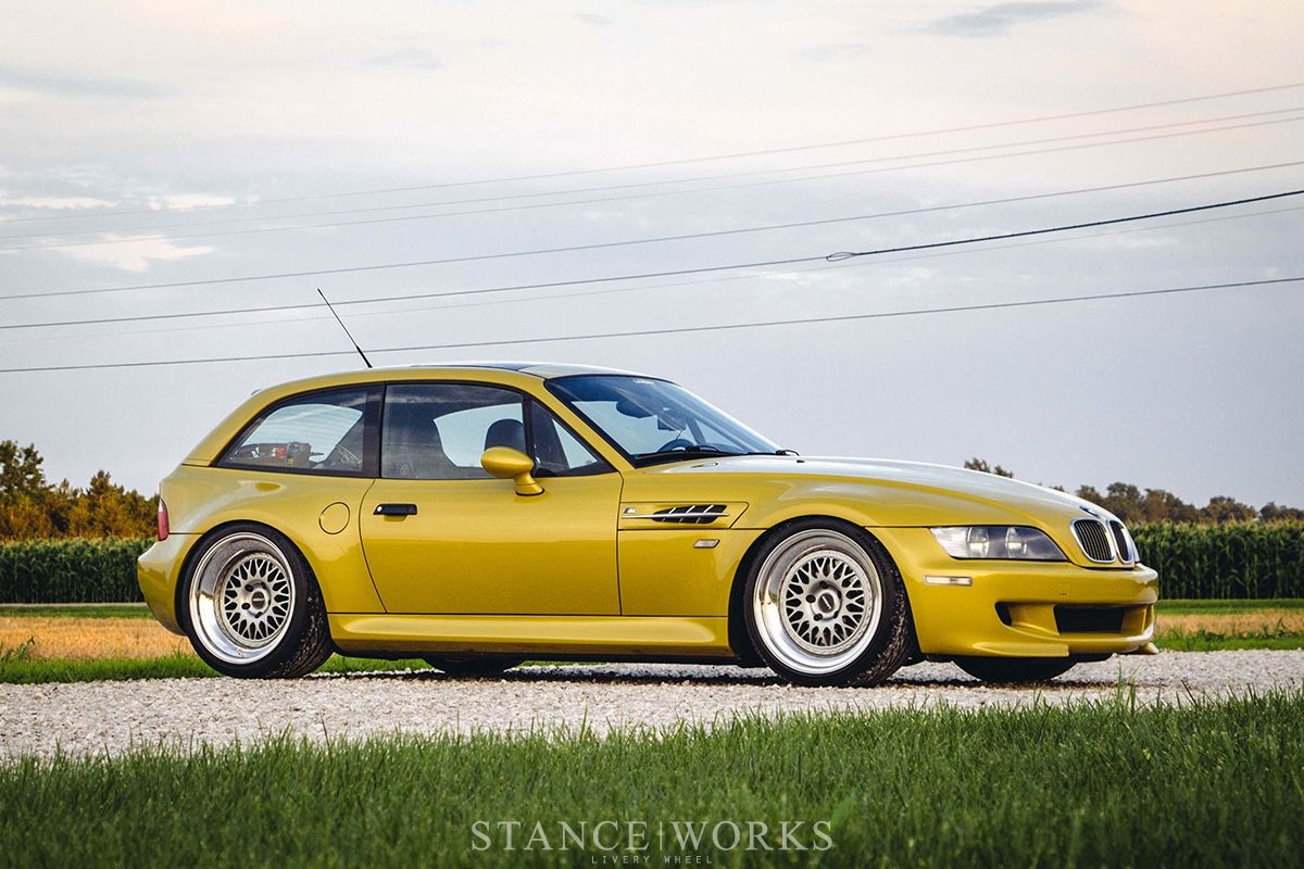 Bmw Z3 M Coupe On Livery Wheels Bmw Bmw Dealer Bmw Z3