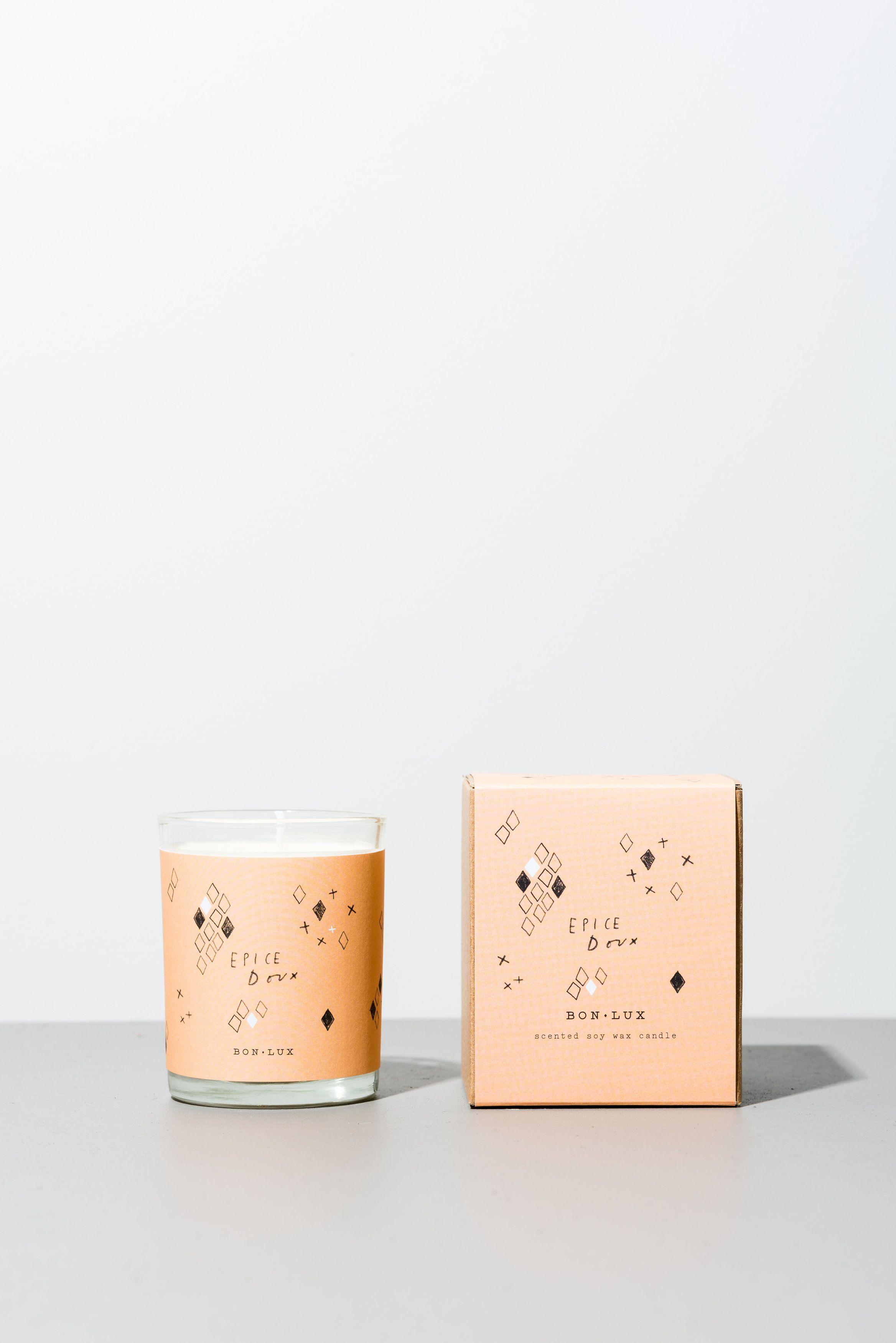 www.bonlux.com epice doux votive candle