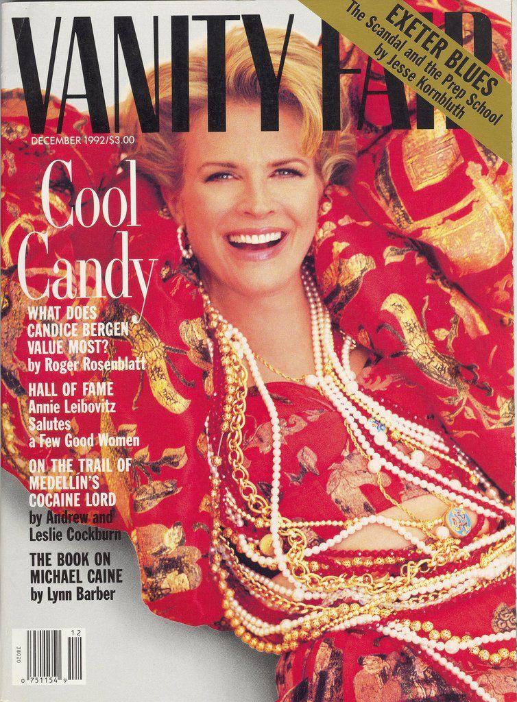 Vanity Fair, December 1992 (Candice Bergen)