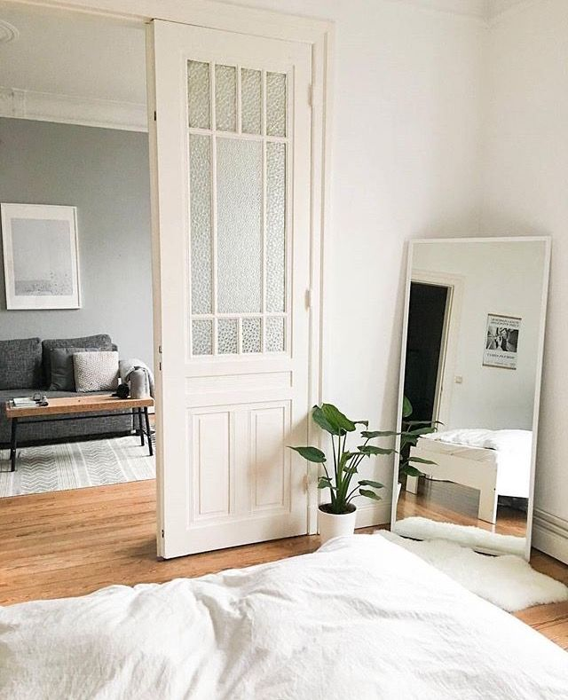 Small Bedroom Spaces Can Feel Larger, More Functional + Lighter. Simple  Small Bedroom Tips, Ideas