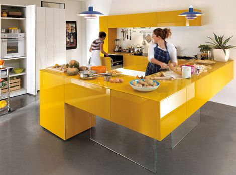 Cool Kitchen Designs Mesmerizing Kitchen Cabinet Colors  Kitchen Building  Part 3  Color Yellow Inspiration