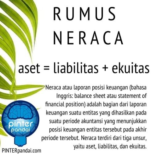 Rumus Neraca Akuntansi Balance Sheet Contoh Soal Jawaban Akuntansi Neraca Laporan Keuangan