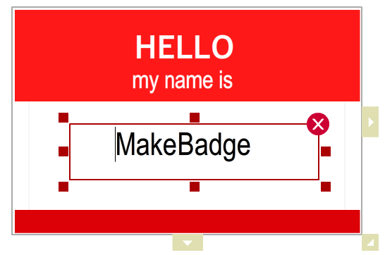 Online Badge Maker With Free Templates Design All Kinds Of Name - Name badge template