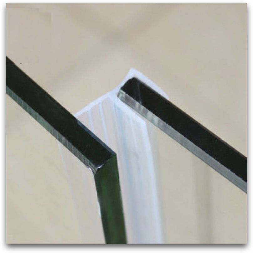 Glass Screen Sliding Sash Shower Door Window Balcony Seals Draught Excluder  Rubber Strip Weatherstrip Draft Stopper F