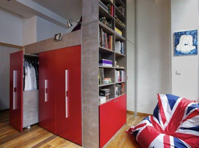 Des dressings très pratiques bedroom mezzanine