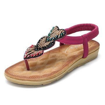 Strass Boucle Flip Toe Clip Confortable Flops Sandales Plates hMDIXNC9Z