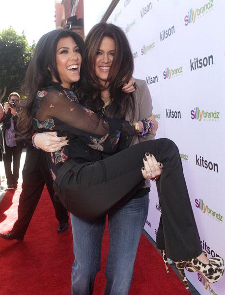 Kourtney Kardashian Lesbian