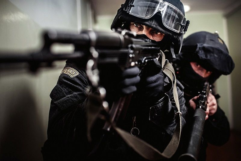 Indoor Vegetable Garden Sparks Swat Team Raid Special Forces