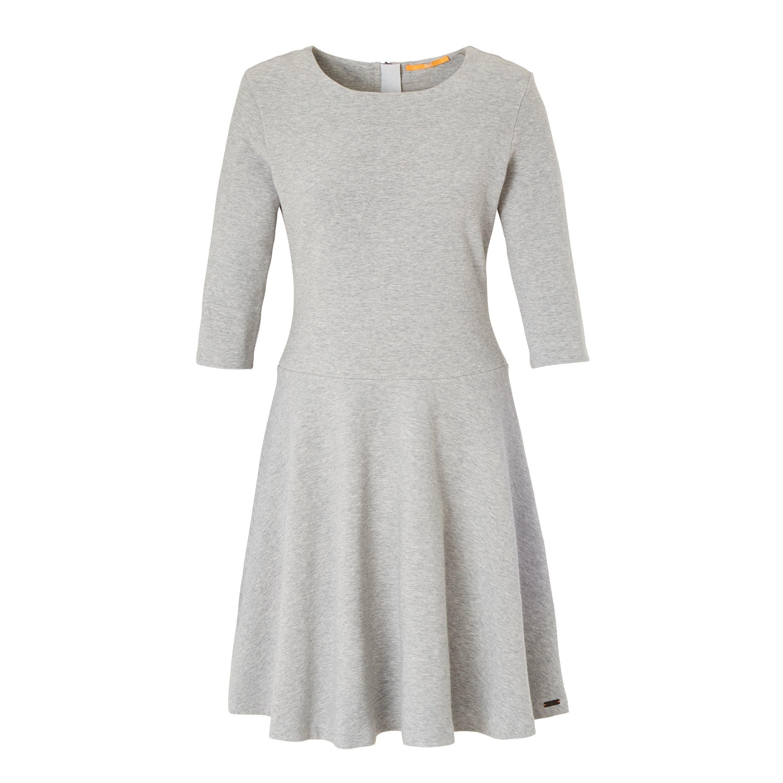 So edel kann Sweat! Elegantes Kleid aus strukturierter Sweatqualität ...