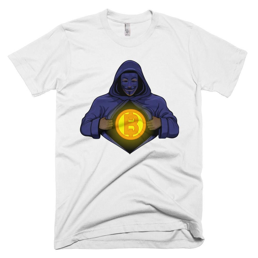 Buy Anonymous Satoshi Nakamoto Super T Shirt The Bitcoin Store