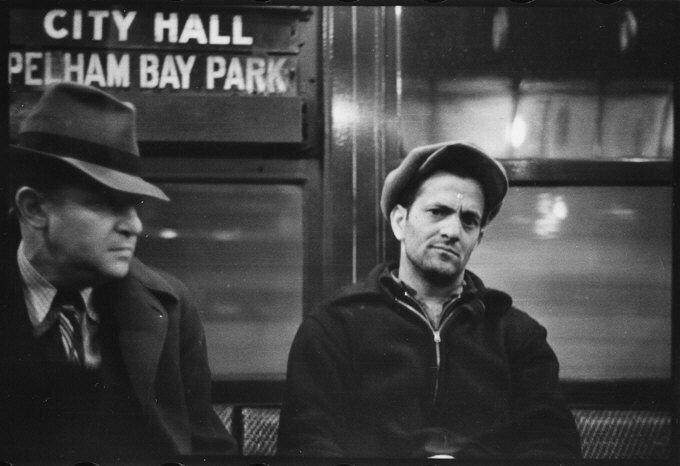 walker evans new york subway