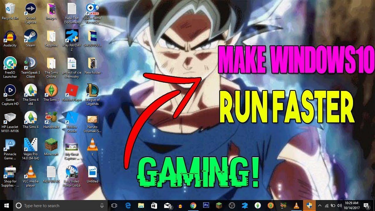 RUN LIKE WINDOWS 7!) How TO Make Windows 10 RUN Faster WITH